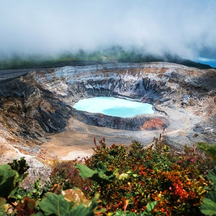 Poás Volcano: Adventure to an active crater's edge