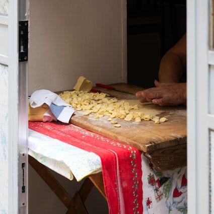The fresh pasta of Apulia