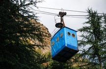 Chiatura - an ancient city with the ropeways