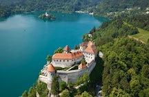 El Castillo de Bled - la ciudadela eslovena más antigua con una vista magnífica