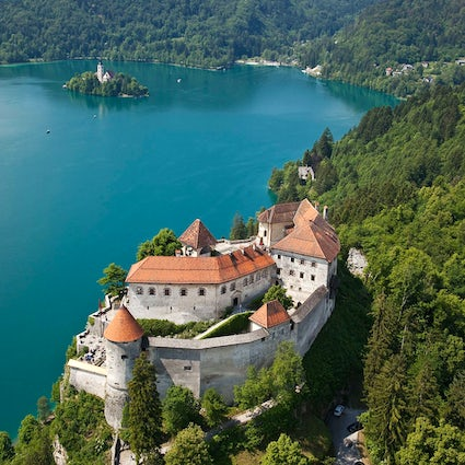 The Bled Castle - the oldest Slovenian citadel with a magnificent view