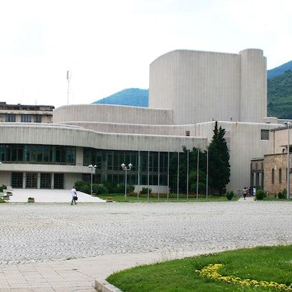 Chefs-d'œuvre de l'architecture socialiste : Le théâtre blanc de Sliven