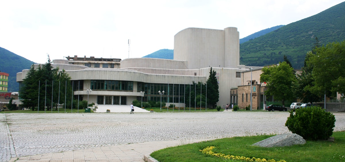 Socialist architectural masterpieces: The White theater in Sliven