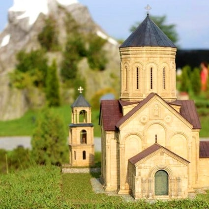 Miniature Park in Shekvetili: the most iconic sites of Georgia