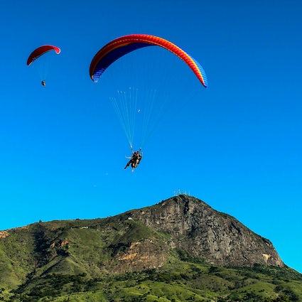 Großartige Aussicht vom Pico do Ibituruna, Gouverneur Valadares