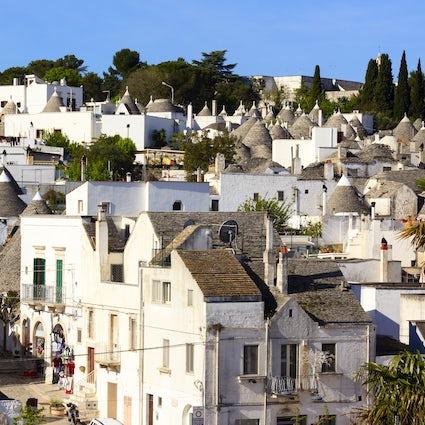 Alberobello, il paese dei trulli