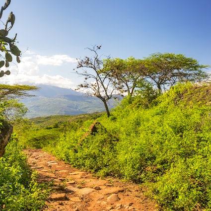 Senderismo El Camino Real en Guane y Barichara