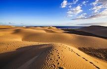 Gran Canaria ; Les dunes de Maspalomas