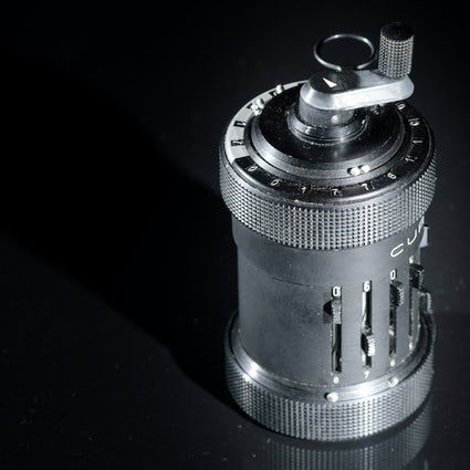 The Curta, a calculator that connected Liechtenstein and Vienna