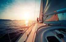 Sailing in Italy's Ligurian Sea