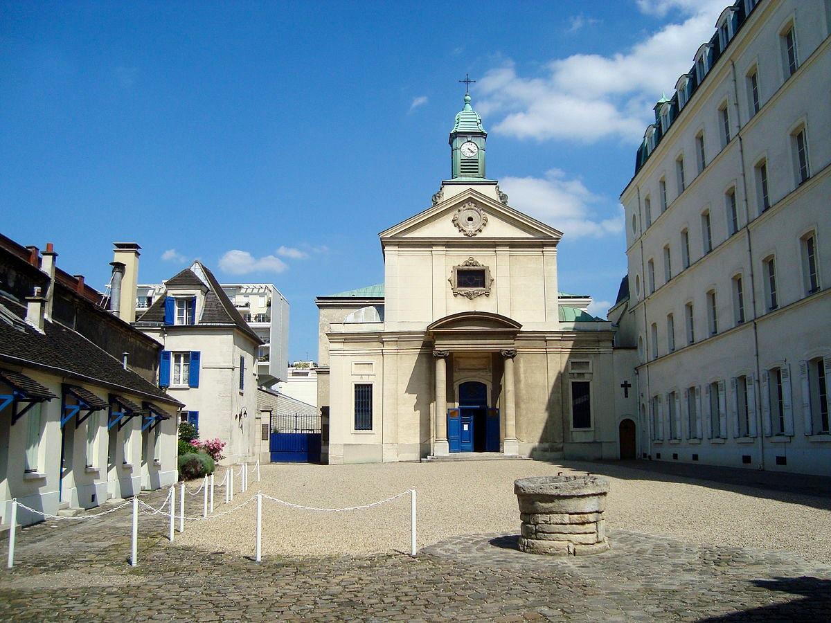 Famous cemeteries in Paris: Picpus