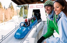 Sleighing like a Pro- Bobsleigh Track Igls