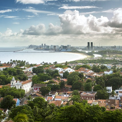The picturesque center of Olinda: a UNESCO world heritage site