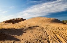 Moscow-area desert: sand dunes in Sychevo