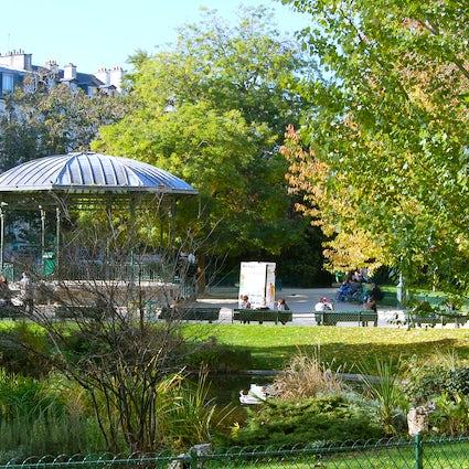 Parks und Gärten in Paris: Platz des Tempels