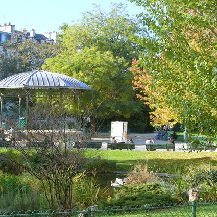 Parks and gardens in Paris: Square du Temple