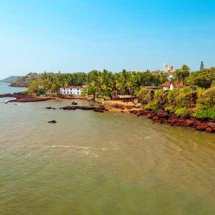 In and around Goa's romantic Dona Paula Beach