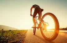 Ciclismo de España a Portugal ; Badajoz - Elvas