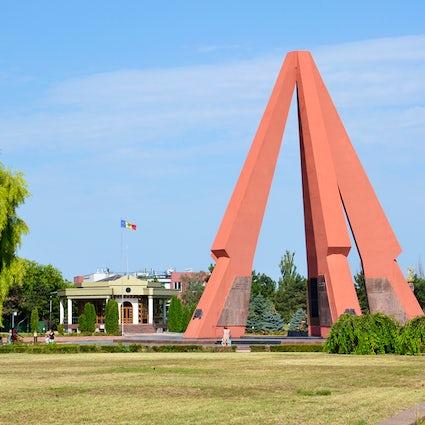 Eternitate Memorial Complex, the monument of military glory in Chisinau