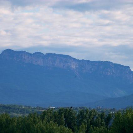 Una montagna mitologica del Khvamli