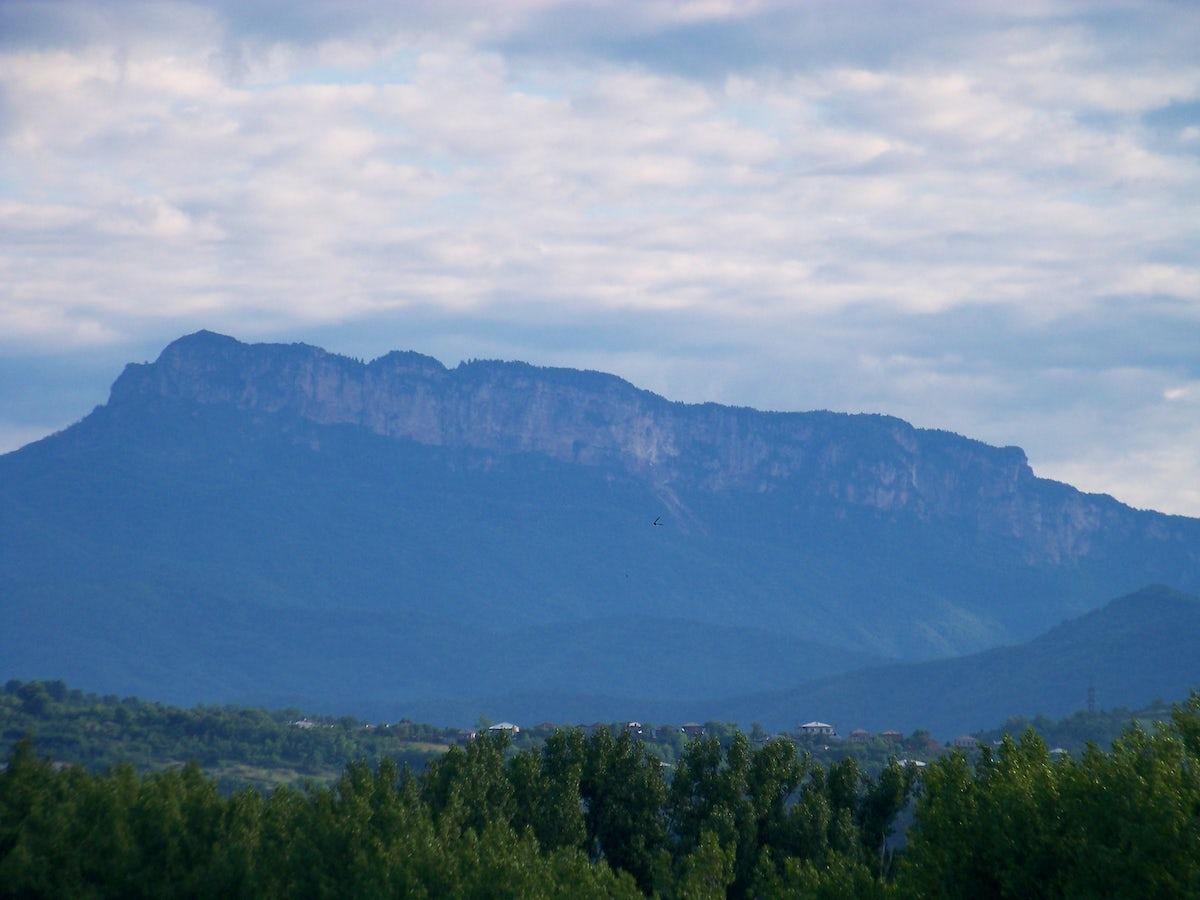 A mythological Khvamli Mountain