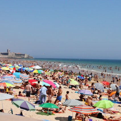 Day at the Beach: Carcavelos