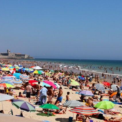Day at the Beach: Carcavelos