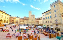 Arezzo - Filmgeschiedenis en Italiaanse keuken in Toscane