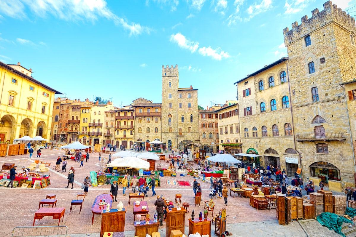 Arezzo - Film History and Italian Cuisine in Tuscany