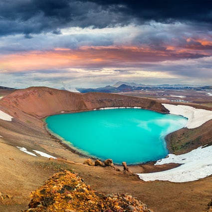 Lake Myvatn: a pearl of North Iceland
