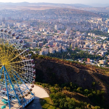Mtatsminda Park – enjoy a funicular ride to the hill
