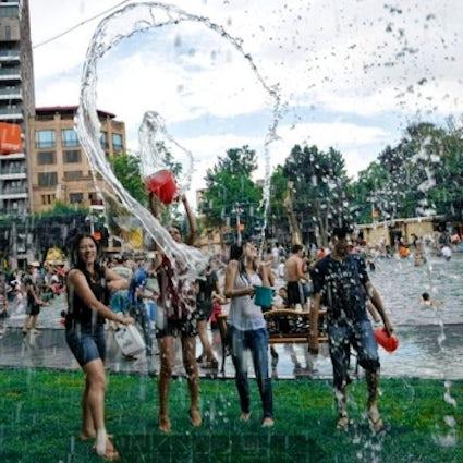 Las vacaciones más húmedas de la historia - Vardavar en Armenia