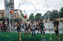 The wettest holiday ever - Vardavar in Armenia