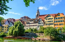 The city of hikers: Tübingen!