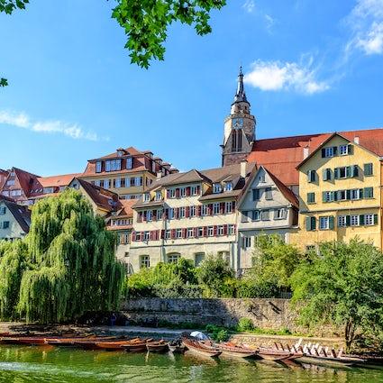 The city of hikers: Tübingen!