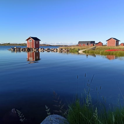 Traveling to Utö, a far away island