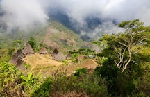 Wae Rebo, the last traditional Manggarai village in Flores