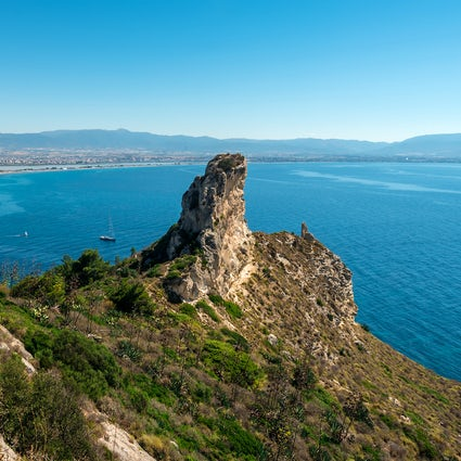 Cagliari's Skyline and the Devil's Saddle
