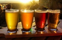 Blond oder rot? Sardinien, eine Insel und das Bier.