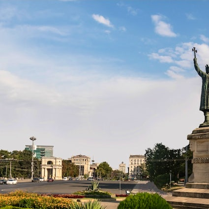 A unique monument-traveler: Stefan cel Mare in Chisinau