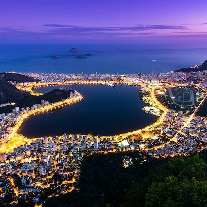 Rodrigo de Freitas Lagune & buitensporten in Rio