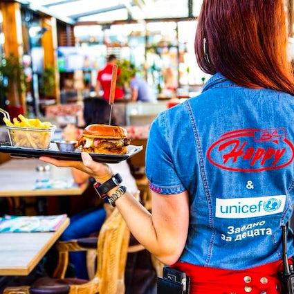 Paraíso gastronómico en Happy Bar and Grill en Sofía