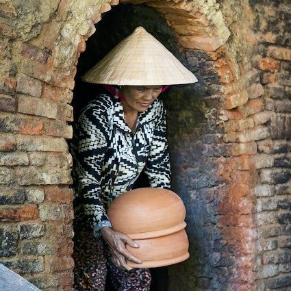 Aldeas artesanales en los alrededores de Hanoi
