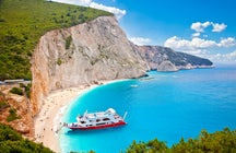 El Caribe de Grecia, Lefkada y sus playas de color azul cielo
