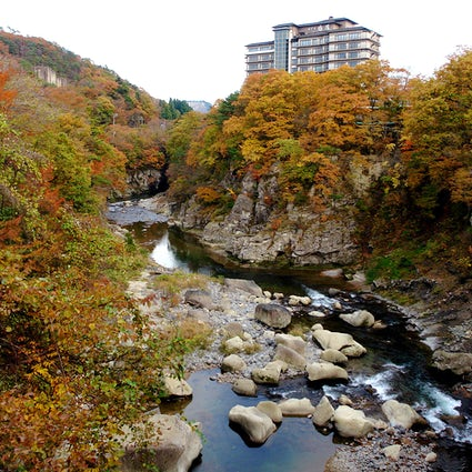 Relax in Akiu Onsen & its nature's serenity