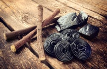Tasting various forms of licorice in Copenhagen