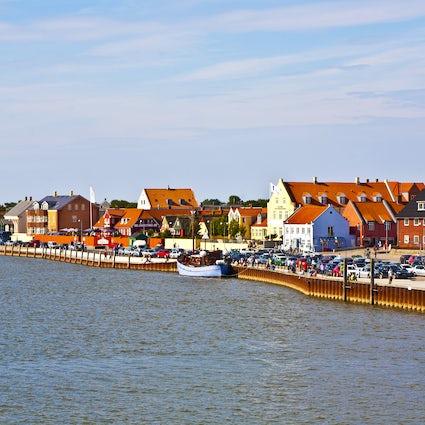 La isla de Fanø en Dinamarca
