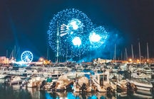 Fireworks over the sea - Festival dell'Arte Pirotecnica in Trani