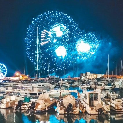 Fireworks over the sea - Festival dell'Arte Pirotecnica in Trani