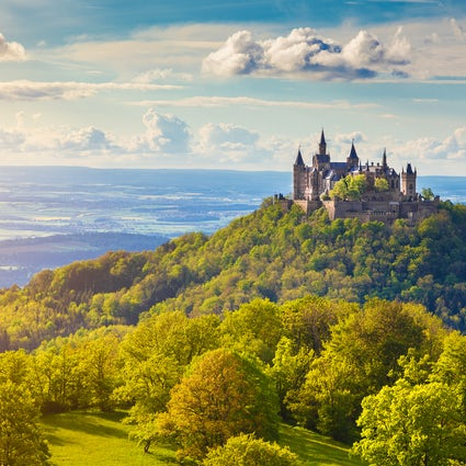 Castillo de cuento de hadas: ¡Hohenzollern!